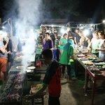 """Gili Trawangan Night Market """"Rush Hour"""""""