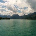 Vue vers les Bout du Lac
