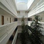 Zona interior del hotel