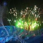 Spectacular fireworks at shauma show sea world orlando