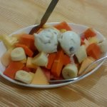 Fruit Salad with Ice Cream at Summit Hotel Ahmedabad