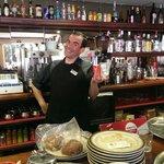 The best bar man around.... Manuel!