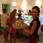 The owners runs also a gelateria