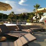 Pool and beachside terrace