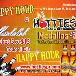 This is our Happy Hour for a limited time for more information 787.727.5484