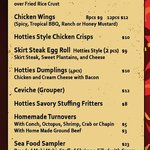 this is our new menu, from August 2014