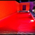 Pool by night!