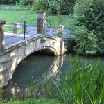 Woolpack Bridge in grounds on way in.