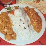 Chicken Malaya- comida India - indian food