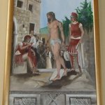 The tenth station - Jesus is stripped of his clothes - The Church of St Nicholas, Cavtat