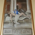 The thirteenth station - Jesus is taken down from the cross - The Church of St Nicholas, Cavtat