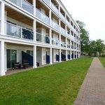 Hotelnebengebäude Neubau / Meerseite