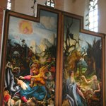 Another medieval altarpiece by Schongauer