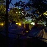 Calella vue emplacement camping (tente)