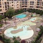 Residence coté piscine