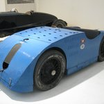 A Bugatti. Wonderful vehicles. This one is from 1923 - a Biplace Course with a top speed of 190k