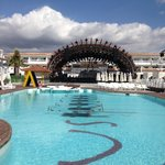 Escenario Ushuaia Ibiza beach hotel. Fiesta DEPARTURES.