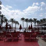 Piscina towe en Ushuaia ibiiza beach hotel
