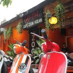 Vietnam Vespa Adventures Base At Cafe Zoom Hoi An