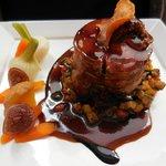 Selle d'agneau (roasted lamb)