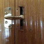 safety door in the room
