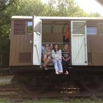 railway carriage bedroom window