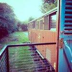 railway carriage balcony