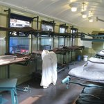 A hospital train - post-WWII.