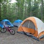 Camping @Mauch Chunk Lake 8/02/2014