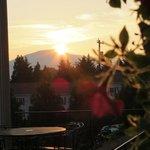 Sunrise on the porch