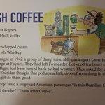 L'histoire de l'Irish coffee