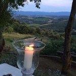 uitzicht tijdens diner buiten