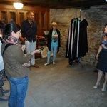 Visita a la Sala de Tunas del Museo de la Casa de la Troya