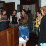 Visita al dormitorio del Museo de la Casa de la Troya