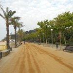 Дорожка возле пляжа