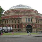 Vista del Royal Albert Hall desde el Albert Memorial