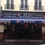 Façade du restaurant OISUSHI