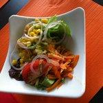 Salade composée de saison