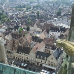 View over Chartres from Tower