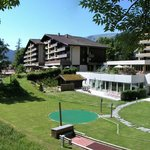 Garten Sunstar Alpine Hotel Grindelwald