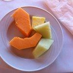 La salade de fruits...