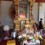 Mummified monk shrine