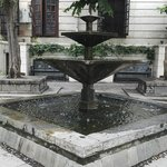 Fountain in gardens