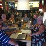 Family Meal at Siete Lunas