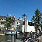 Police Box in Prinsegracht