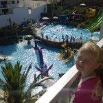 room 516 pool view