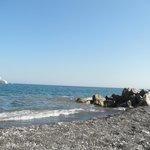 Scogli a Perissa beach