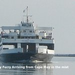 The Ferry Arriving on Time from Cape May to Lewes