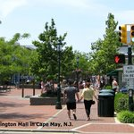 The Washington Mall in Cape May