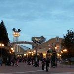Disney Studio at night